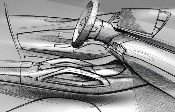 Primele schițe cu interiorul noii generații Mercedes GLE: SUV-ul va avea două ecrane de 12.3 inch - Poza 4
