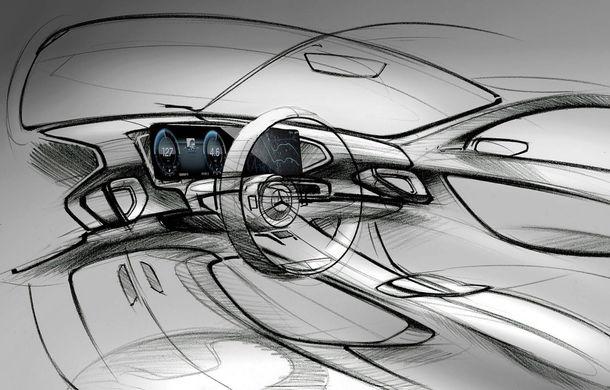 Primele schițe cu interiorul noii generații Mercedes GLE: SUV-ul va avea două ecrane de 12.3 inch - Poza 1
