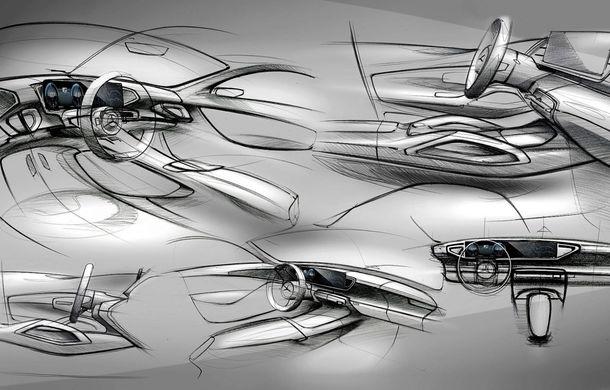 Primele schițe cu interiorul noii generații Mercedes GLE: SUV-ul va avea două ecrane de 12.3 inch - Poza 6