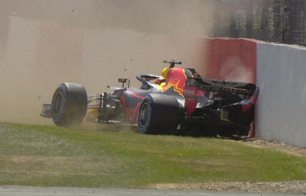Hamilton și Vettel, cei mai rapizi în antrenamentele de la Silverstone. Accident pentru Verstappen - Poza 1