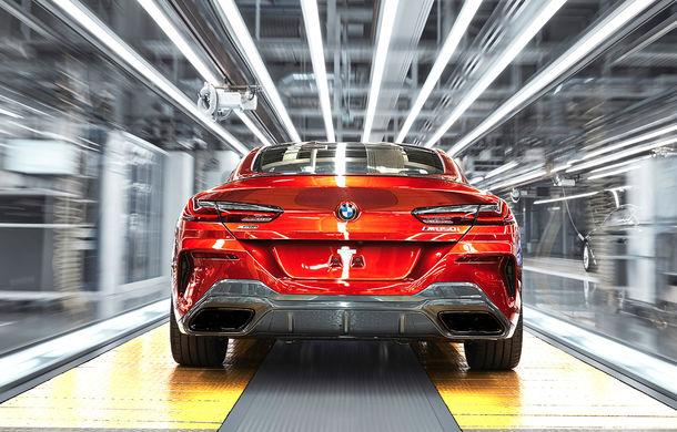 BMW a început producția noului Seria 8 Coupe: modelul constructorului bavarez este asamblat în cadrul fabricii din Dingolfing, Germania - Poza 7