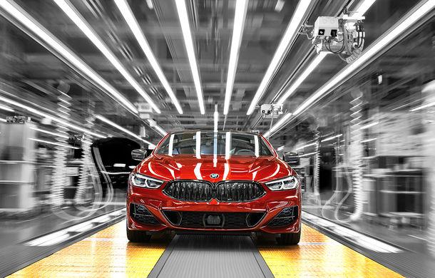 BMW a început producția noului Seria 8 Coupe: modelul constructorului bavarez este asamblat în cadrul fabricii din Dingolfing, Germania - Poza 4