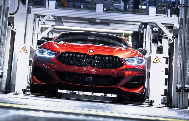 BMW a început producția noului Seria 8 Coupe: modelul constructorului bavarez este asamblat în cadrul fabricii din Dingolfing, Germania - Poza 9
