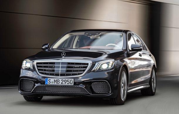 Viitoarea generație Mercedes-Benz Clasa S va integra sisteme autonome de nivel 3: modelul va fi prezentat în 2019 - Poza 1