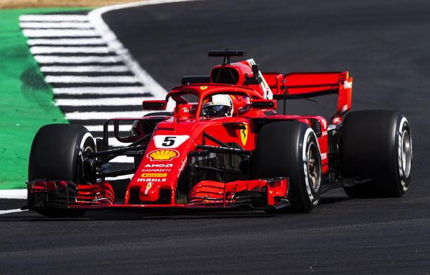 Spectacol la Silverstone: Vettel a câștigat cursa, Hamilton pe locul doi după un acroșaj cu Raikkonen în primul tur - Poza 1