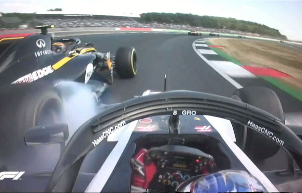 Spectacol la Silverstone: Vettel a câștigat cursa, Hamilton pe locul doi după un acroșaj cu Raikkonen în primul tur - Poza 4