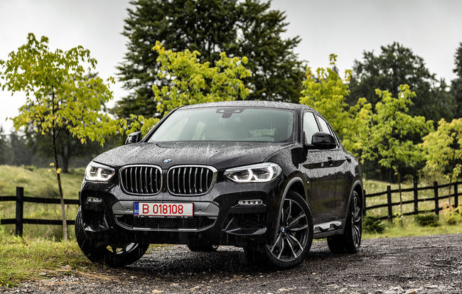 Test drive BMW X4