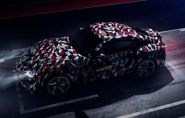 Prototipul Toyota Supra debutează în cadrul Goodwood Festival of Speed: japonezii promit un motor cu șase cilindri în linie și putere livrată pe puntea spate - Poza 1