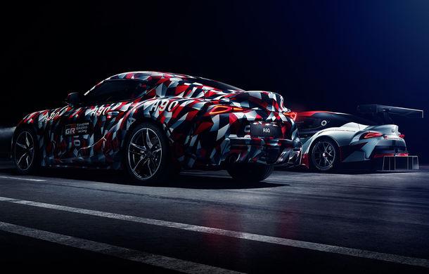 Prototipul Toyota Supra debutează în cadrul Goodwood Festival of Speed: japonezii promit un motor cu șase cilindri în linie și putere livrată pe puntea spate - Poza 2