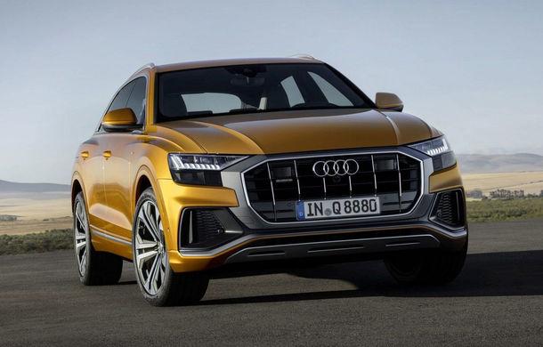 Audi SQ8 va fi prezentat în decembrie: SUV-ul coupe de performanță va primi motorul diesel V8 de 435 CP - Poza 1