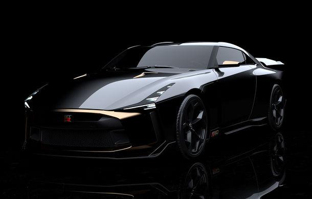 Prototipul Nissan GT-R50 ar putea avea o producție limitată la 50 de unități: preț de 900.000 de euro pentru fiecare exemplar construit manual - Poza 1