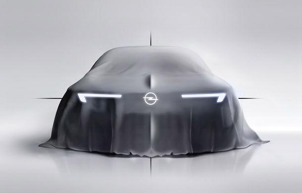 Primul teaser pentru conceptul pregătit de Opel în 2018: indicii despre noua direcție de design a mărcii - Poza 1