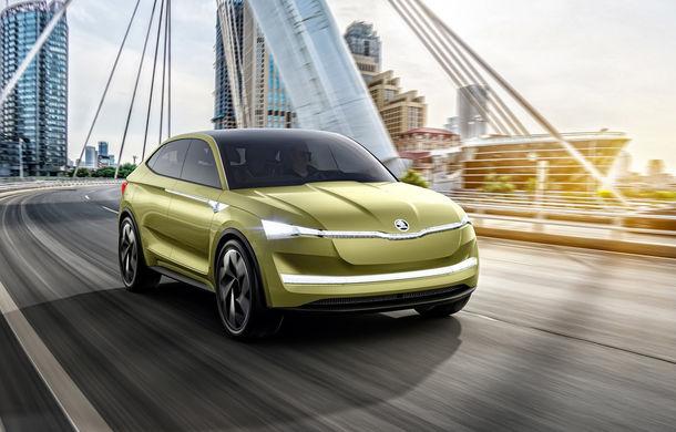 Primul SUV electric Skoda va primi versiune de performanță RS: lansarea este programată pentru 2022 - Poza 1