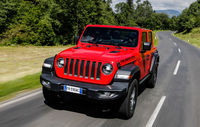 Test drive Jeep Wrangler Unlimited