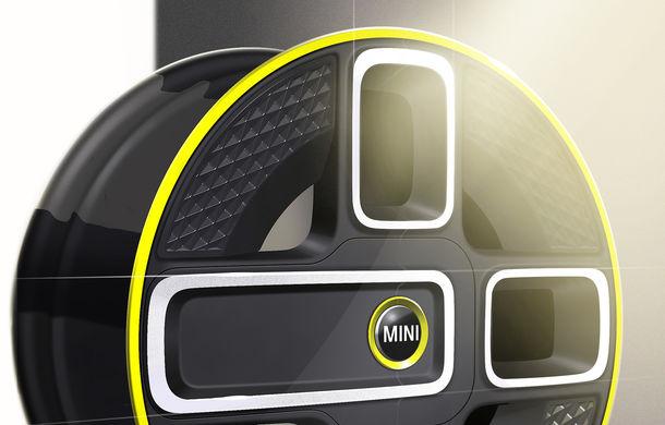 Primele schițe cu Mini Electric: grila și jantele, dezvăluite înainte de lansarea din 2019 - Poza 2