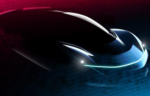 Noi schițe oficiale cu viitorul hypercar electric de la Pininfarina: PF0 este așteptat spre sfârșitul lui 2020 - Poza 3
