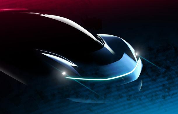 Noi schițe oficiale cu viitorul hypercar electric de la Pininfarina: PF0 este așteptat spre sfârșitul lui 2020 - Poza 1