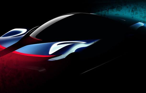 Noi schițe oficiale cu viitorul hypercar electric de la Pininfarina: PF0 este așteptat spre sfârșitul lui 2020 - Poza 4