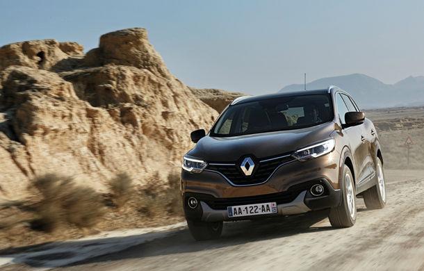 Renault Kadjar va primi în septembrie o nouă gamă de motoare: două unități pe benzină de până la 160 CP și un diesel de 115 CP - Poza 1