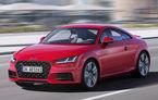 Audi TT facelift: motorizări pe benzină mai puternice și schimbări minore de design