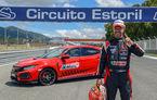 Honda Civic Type R este cea mai rapidă mașină de serie cu roți motrice față pe circuitul de la Estoril: Hot Hatch-ul nipon a doborât recordul vechiului Civic Type R