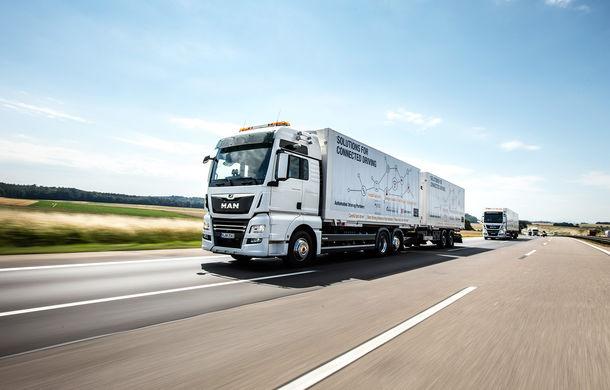Primii pași în noua eră: MAN eTGE, utilitara electrică gândită pentru livrări urbane, și convoiul de camioane conectate ale producătorului bavarez - Poza 13
