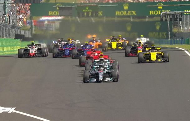 Hamilton a câștigat fără emoții la Hungaroring! Vettel, locul 2 după un acroșaj cu Bottas în finalul cursei - Poza 4