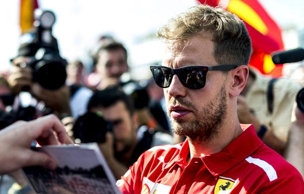 """Vettel rămâne încrezător în șansele la titlul mondial: """"Monopostul Ferrari este mai puternic și are potențialul de a se dezlănțui"""" - Poza 1"""