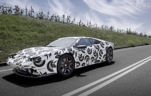 Supercar cu aromă retro: Ares Panther folosește arhitectura lui Lamborghini Huracan, dar are un design inspirat de legendarul De Tomaso Pantera - Poza 2