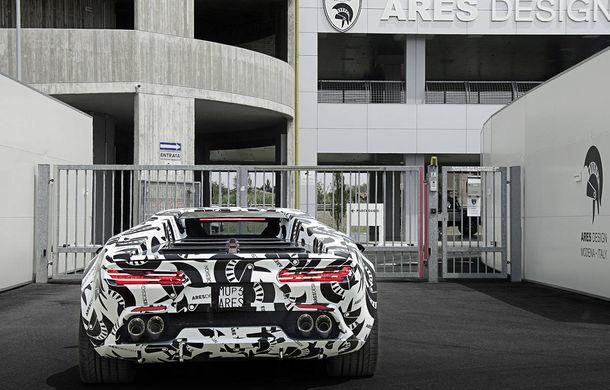 Supercar cu aromă retro: Ares Panther folosește arhitectura lui Lamborghini Huracan, dar are un design inspirat de legendarul De Tomaso Pantera - Poza 6