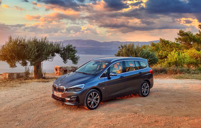 Test drive BMW Seria 2 Gran Tourer facelift