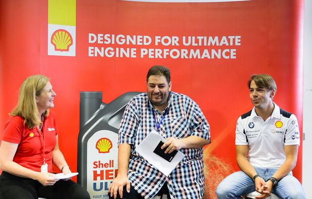 Shell Drive On Experience: o zi de vis pe circuit alături de Thierry Neuville, Dani Sordo și Augusto Farfus - Poza 35
