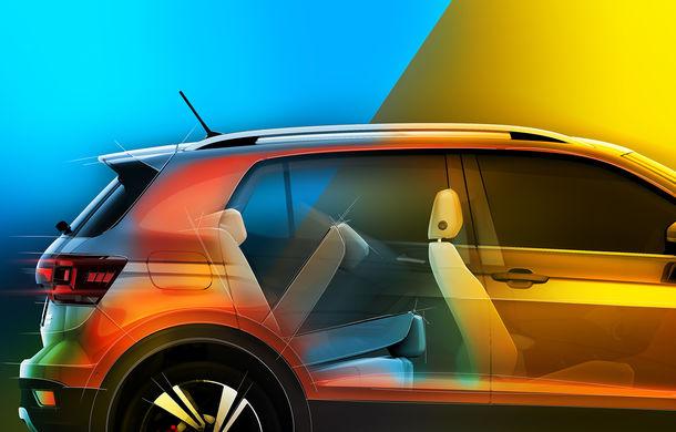 Volkswagen scoate în evidență atuurile lui T-Cross cu ajutorul unui teaser video: portbagaj de până la 455 de litri și sisteme de siguranță moderne - Poza 3