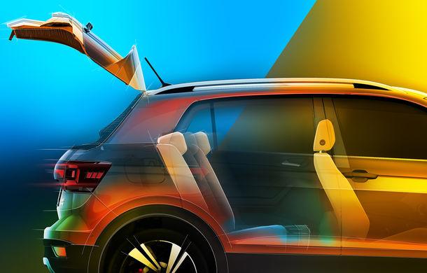 Volkswagen scoate în evidență atuurile lui T-Cross cu ajutorul unui teaser video: portbagaj de până la 455 de litri și sisteme de siguranță moderne - Poza 2