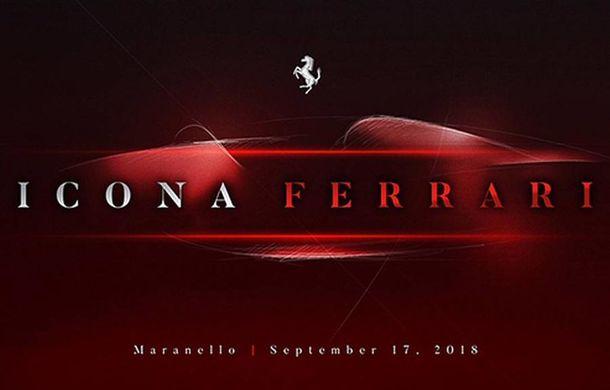 Ferrari ar putea lansa un model nou pe 17 septembrie: teaser misterios pe site-ul dedicat clienților - Poza 1