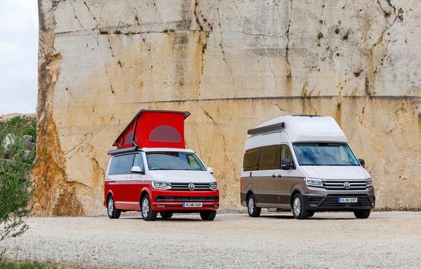 Volkswagen prezintă noul Grand California: camper van-ul oferă spațiu pentru toată familia și dotări moderne pentru iubitorii de vacanțe pe roți - Poza 2