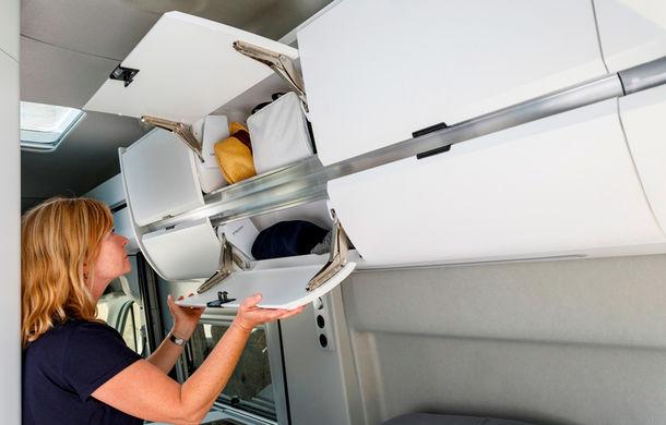 Volkswagen prezintă noul Grand California: camper van-ul oferă spațiu pentru toată familia și dotări moderne pentru iubitorii de vacanțe pe roți - Poza 6