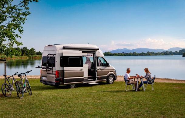 Volkswagen prezintă noul Grand California: camper van-ul oferă spațiu pentru toată familia și dotări moderne pentru iubitorii de vacanțe pe roți - Poza 1