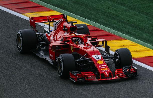 Vettel a câștigat cursa de la Spa-Francorchamps! Hamilton și Verstappen au completat podiumul - Poza 1