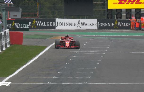 Vettel a câștigat cursa de la Spa-Francorchamps! Hamilton și Verstappen au completat podiumul - Poza 3