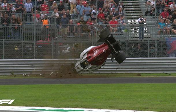 Perez și Vettel, cei mai rapizi în antrenamentele de vineri de la Monza. Accident spectaculos pentru Ericsson - Poza 2