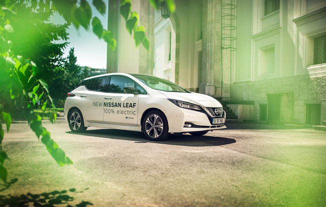 Test drive Nissan Leaf