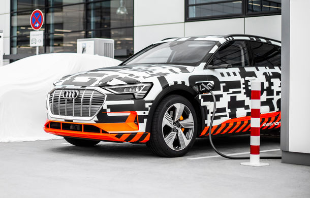 Audi lansează serviciul e-tron Charging Service: încarci mașina electrică sau plug-in hybrid în Europa cu un singur card sau aplicație - Poza 1