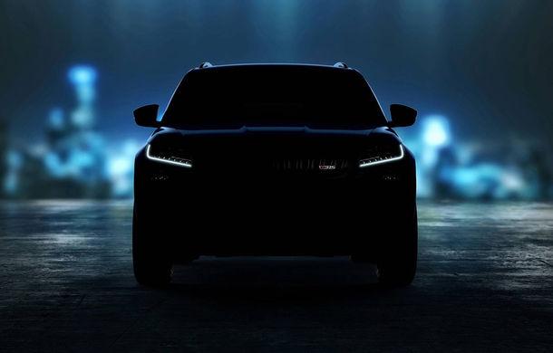 Primul teaser video cu viitorul Skoda Kodiaq RS: suspensie adaptivă, motor diesel de 240 CP și echipamente de top - Poza 1