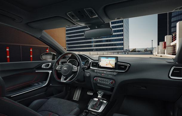 Kia Ceed GT, imagini și detalii oficiale: motor turbo de 204 CP și cutie automată cu dublu ambreiaj și 7 trepte - Poza 6