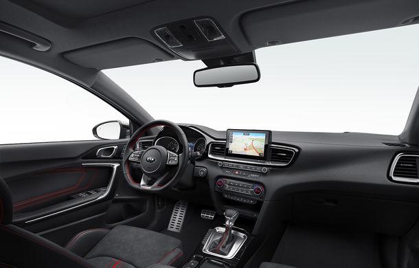 Kia Ceed GT, imagini și detalii oficiale: motor turbo de 204 CP și cutie automată cu dublu ambreiaj și 7 trepte - Poza 5