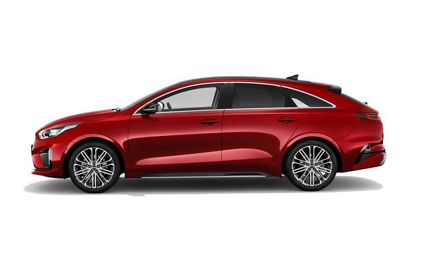 Kia ProCeed: shooting brake cu două motoare pe benzină și un diesel. Versiunea de performanță GT oferă 204 cai putere - Poza 1
