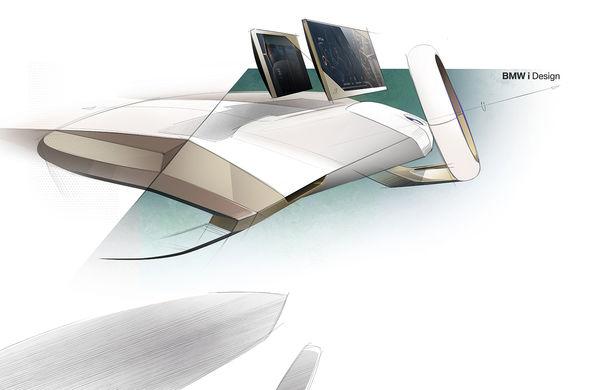 BMW Vision iNext: conceptul care anticipează tehnologiile și interiorul mașinilor autonome ale germanilor. Versiunea de serie debutează în 2021 - Poza 54