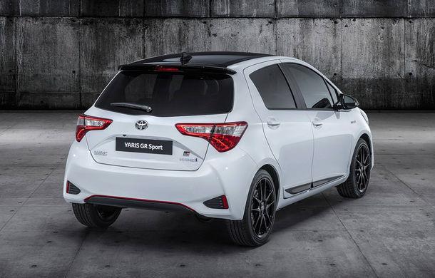 Toyota Yaris GR Sport: echipare sportivă cu modificări la suspensii și sistem hibrid cu motor de 1.5 litri și 100 de cai putere - Poza 2