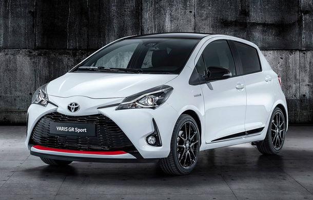Toyota Yaris GR Sport: echipare sportivă cu modificări la suspensii și sistem hibrid cu motor de 1.5 litri și 100 de cai putere - Poza 1